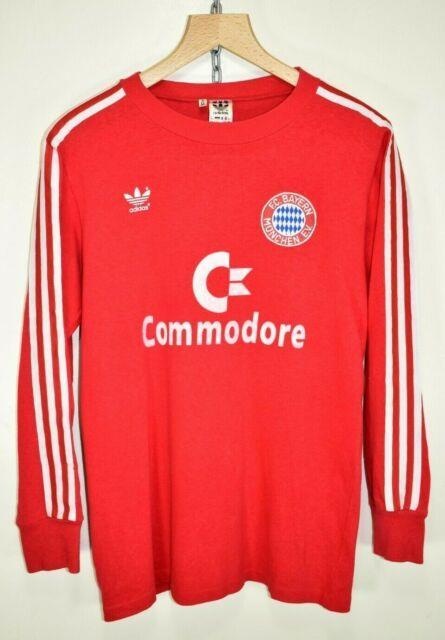 Bayern Munich Home Shirt 1984-86 Adidas Football Soccer Jersey West Germany M