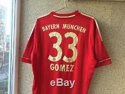 Bayern Munich Home football shirt 2011/2013 Jersey Germany Adidas # Mario Gomez