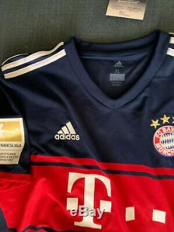 Bayern Munich Jerome Boateng Autographed Signed Bundelisga Jersey JSA COA BNWT