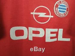 Bayern Munich Jersey 1989 1991 Home L Shirt Adidas Football Soccer