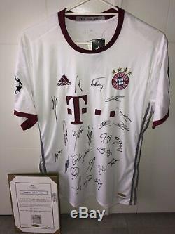 Bayern Munich Jersey 2016-17 Adidas (Champions League #7 Ribery)