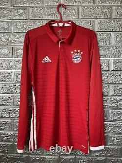 Bayern Munich Jersey 2016/17 Home Player Issue Sz 7 Soccer Trikot Adidas AI0053