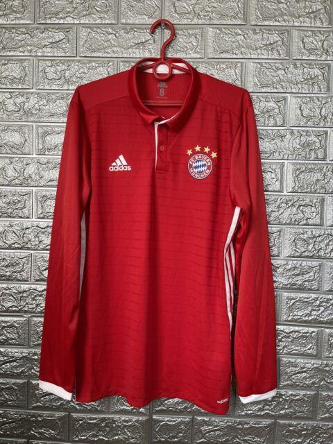 Bayern Munich Jersey 2016/17 Home Player Issue Sz 8 Soccer Trikot Adidas Ai0053