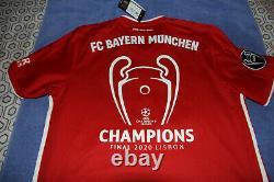 Bayern Munich Jersey 2020 Home Shirt Adidas Mens Large Champions League Munchen