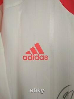Bayern Munich Jersey Authentic Autograph 2012 2013 Away M Shirt Adidas X22438