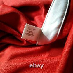 Bayern Munich Jersey Long Sleeve Home football shirt 2016 2017 Adidas AI0051 S