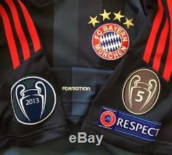 Bayern Munich Jersey Match Worn Issued formotion no techfit