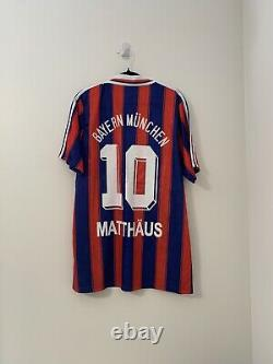 Bayern Munich Jersey Matthaus XL