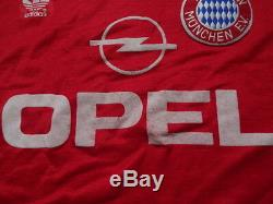Bayern Munich Jersey Shirt 100% Original 1989/1991 Home M Extremely Rare