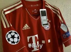 Bayern Munich Lahm MD Germany Shirt Football Soccer Adidas Jersey