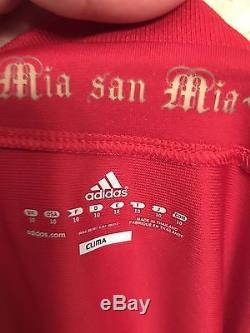Bayern Munich Lahm Muller Era Player Issue Techfit Match Unworn Shirt Jersey