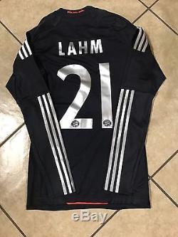 Bayern Munich Lahm Player Issue Techfit Match Unworn Jerseys No Formotion Shirt