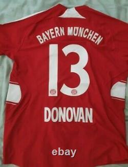 Bayern Munich Landon Donovan USA Soccer Jersey Shirt Camiseta Trikok Ultra Rare