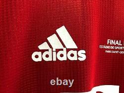Bayern Munich Lewandowski 2020 Final Lisbon player version replica jersey