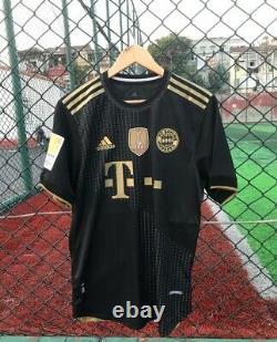 Bayern Munich Lewandowski 9# JERSEY BLACK 2022 NEW WITH TAGS PATCHES. L-XL-XXL