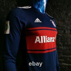 Bayern Munich Long Sleeve Player Issue Away shirt 2017-2018 Adizero Mens Size L
