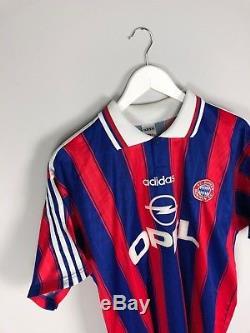 Bayern Munich MATTHAUS #10 95/97 Home Football Shirt (L) Soccer Jersey Adidas