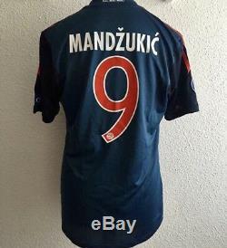 Bayern Munich Mandzukic 8 Croatia Player Issue Shirt Formotion Football jersey