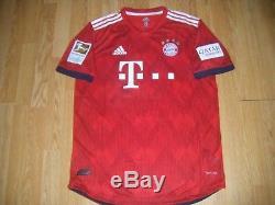 Bayern Munich Match Worn Muller Jersey 2018