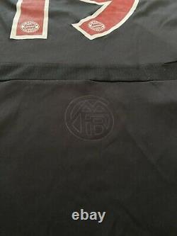 Bayern Munich Match Worn Shirt Jersey Trikot #19 Schlaudraff Uefa Cup Germany