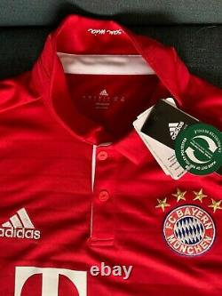 Bayern Munich Mats Hummels Autographed Signed Champions League Jersey COA BNWT