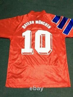 Bayern Munich Matthaus 1992 Bundesliga Jersey