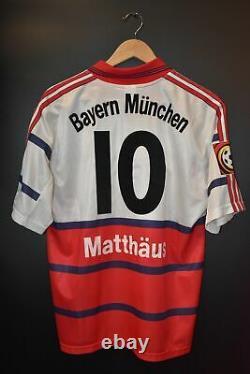 Bayern Munich Matthaus 1997-1998 Original Jersey Size M (very Good)