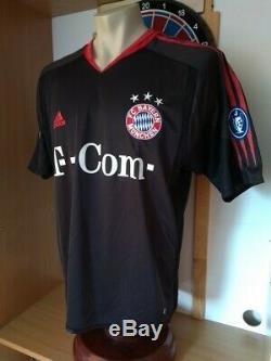 Bayern Munich Munchen 03/05 third jersey trikot Cup CL player #33 Guerrero NWT