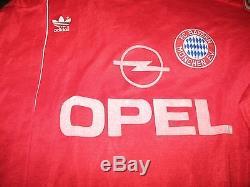 Bayern Munich Munchen 1989 1991 Soccer Shirt Jersey Size L Trikot Germany