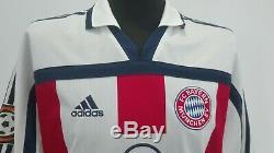 Bayern Munich München 2000/2001 #21 ZICKLER Auswärts Trikot Shirt Adidas jersey