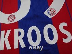 Bayern Munich Munchen #39 Kroos 100% Original Jersey Shirt M 2014/15 Home BNWT