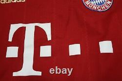 Bayern Munich Munchen Jersey Shirt 100% Authentic Techfit 2012/2013 Home M USED