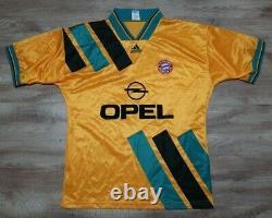 Bayern Munich Munchen Jersey Shirt adidas 100% Original 1993/1994 Away L USED