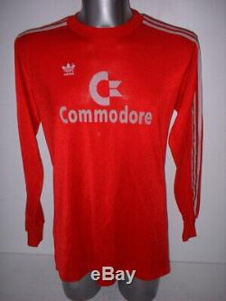 Bayern Munich Munchen Large Adidas Shirt Jersey Trikot Football Soccer Commodore