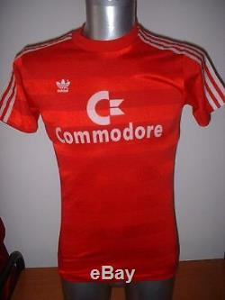 Bayern Munich Munchen S Commodore Adidas Shirt Jersey Trikot Football Soccer Top