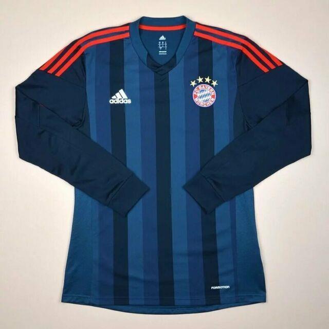 Bayern Munich Player Issue 2013/2014 Away Football Shirt Adidas Formotion Size 8