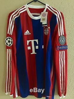 Bayern Munich Player Issue Adizero Match Unworn Pizarro Peru Jersey shirt Bremen
