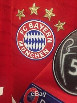 Bayern Munich Player Issue Adizero Trikot Jersey football shirt UCL