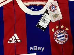 Bayern Munich PlayerIssue Adizero Match Unworn Man U schweinsteiger Jersey shirt