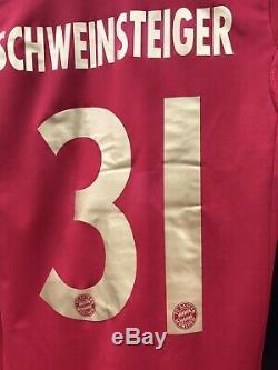 Bayern Munich Robben Germany Player Issue 6 Techfit Trikot Jersey football shirt