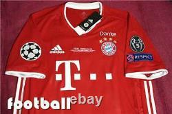 Bayern Munich Robert Lewandowski 9# JERSEY 2021 FINAL UCL NEW WITL ALL TAGS