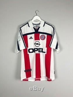 Bayern Munich SALIHAMIDZIC #20 00/01 Away Football Shirt (L) Jersey Adidas