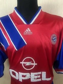 Bayern Munich Shirt 1993 1995 Home Jersey Football Soccer Adidas Mens Size XL