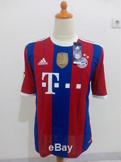 33187445c Bayern Munich Shirt Home 2014-2015