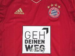 Bayern Munich Shirt Jersey Player Issue Match Un Worn Spielertrikot TechFit
