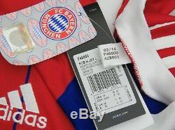 Bayern Munich Shirt Jersey Trikot Maglia BNWT L/S 2014-2015 M