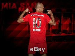 Bayern Munich Special 2019/20 Arjen Robben Commemorative Home Jersey Size XL