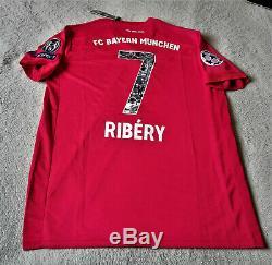 Bayern Munich Special 2019/20 Frank Ribery Commemorative Home Jersey Size XL