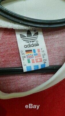 Bayern Munich Style 1986/1988 Adidas Vintage Template Football Shirt Jersey #10