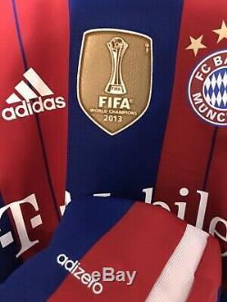 Bayern Munich T Mobile USA Tour Player Issue Football Adizero Trikot 8 Jersey